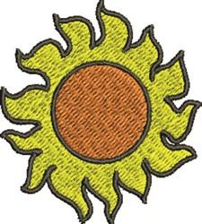 Hot Sun embroidery design