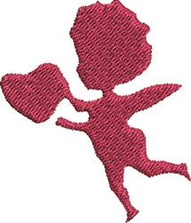 Cupid Angel embroidery design