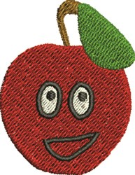 Funny Apple embroidery design