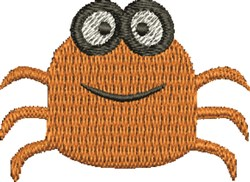 Silly Crab embroidery design