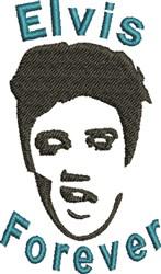 Elvis Forever embroidery design