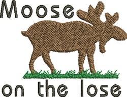 Lose Moose embroidery design