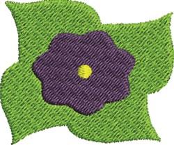 Violet Flower embroidery design