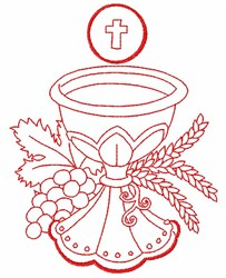 Chalice embroidery design