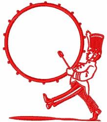 Drummer Boy embroidery design