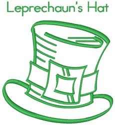 Leprechauns Hat embroidery design