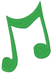 Music Note embroidery design