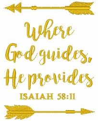 Isaiah 58:11 embroidery design