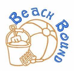 Beach Bound Toys embroidery design