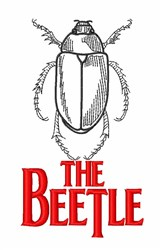 The Beetle embroidery design