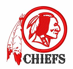 American Indian Chiefs embroidery design