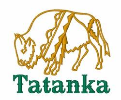 Tatanka Buffalo embroidery design