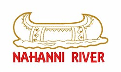 Nahanni River Canoe embroidery design