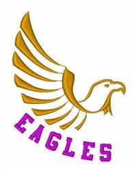 Eagles Bird Mascot embroidery design