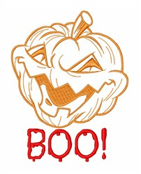 Jack O Lantern Halloween embroidery design