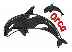 Orca Killer Whale embroidery design