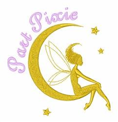 Part Pixie Fairy embroidery design