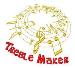 Treble Maker  embroidery design