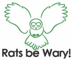 Owl Night Bird Animal embroidery design