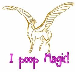Magical Pegasus embroidery design