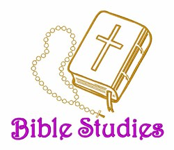 Bible Studies embroidery design