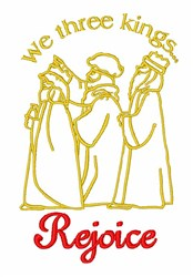 Three Kings Religious embroidery design