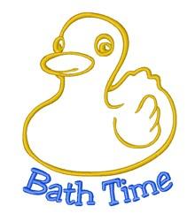 Bath Time Fun embroidery design