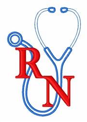 Future Nurse embroidery design