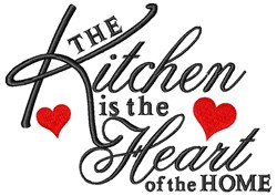 Heart Of Home embroidery design