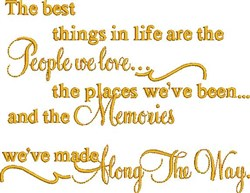 People We Love embroidery design