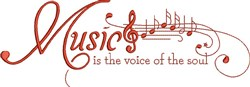 Voice Of Soul embroidery design