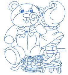Toymaker Elf embroidery design