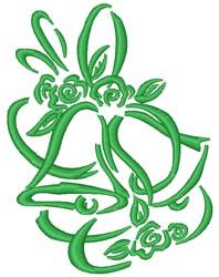 Floral Bells embroidery design