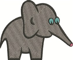 Large Elephant embroidery design