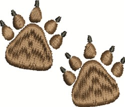 Bear Prints embroidery design