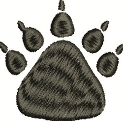 Bear Track embroidery design