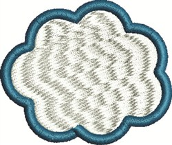 Fluffy Cloud embroidery design
