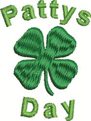 Clover Pattys embroidery design