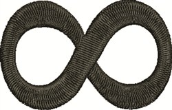 Infinity Symbol embroidery design