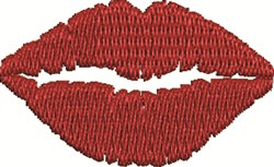Womans Lips embroidery design