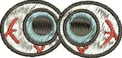 Bloodshot Eyes embroidery design