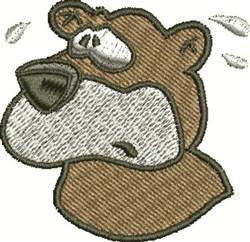 Nervous Bear embroidery design