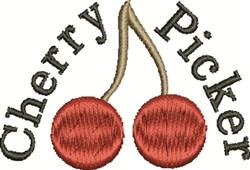 Cherry Picker embroidery design