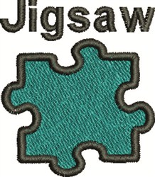 Jigsaw Puzzle embroidery design