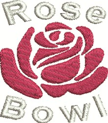 Rose Bowl embroidery design