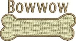 Bowwow Bone embroidery design