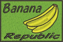 Banana Republic embroidery design