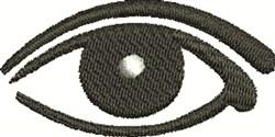 Human Eye embroidery design