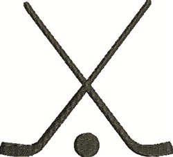 Hockey Sticks embroidery design