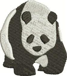 Panda Bear embroidery design